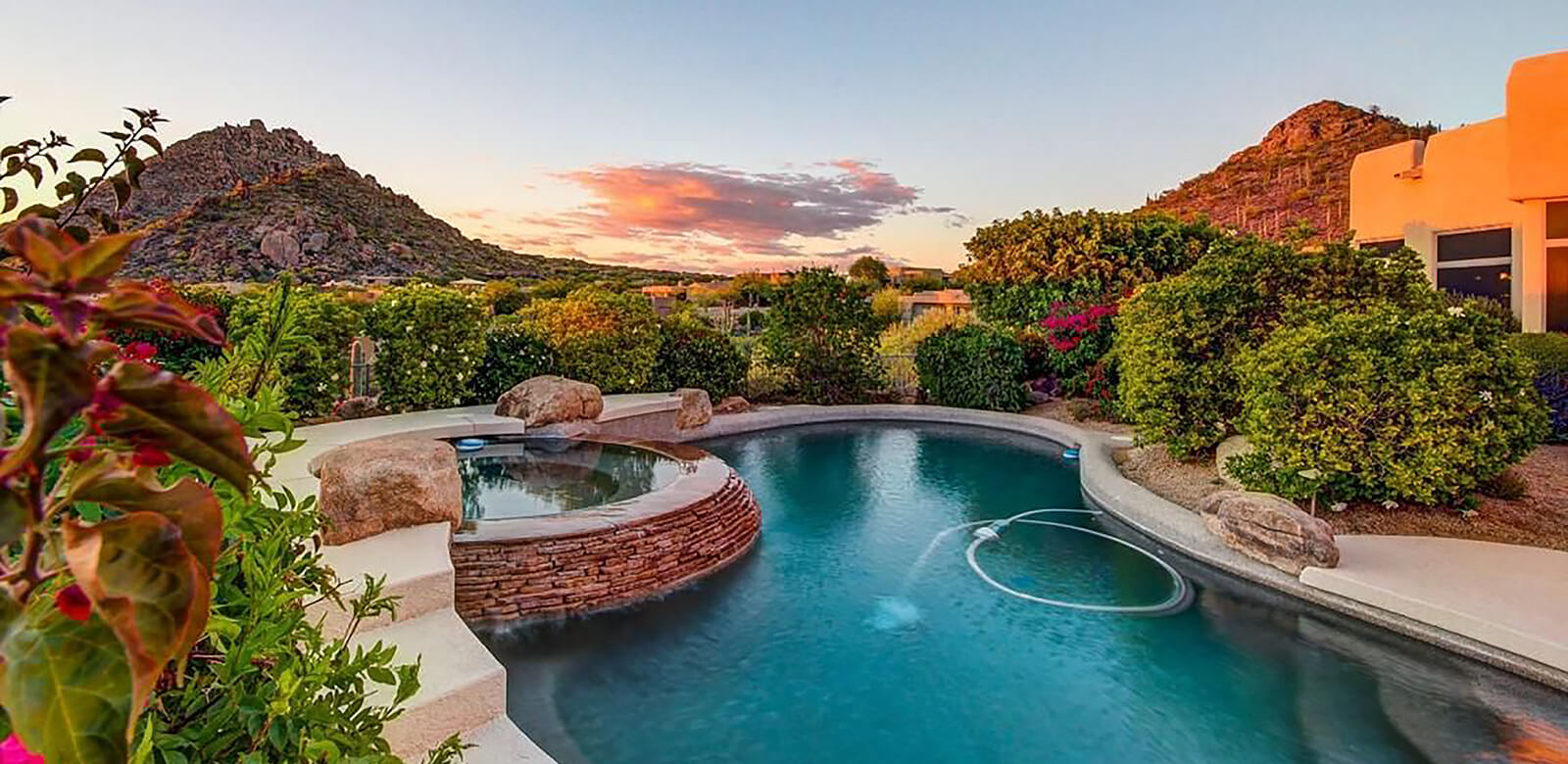 Luxurious Pool Backyard